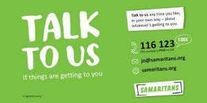 Talk to us - Samaritans