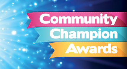 Community Champion Awards banner