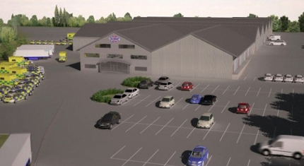 Artist impression of Cartwright Conversions in Belton