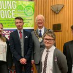 The winning candidates from the 2019 youth elections