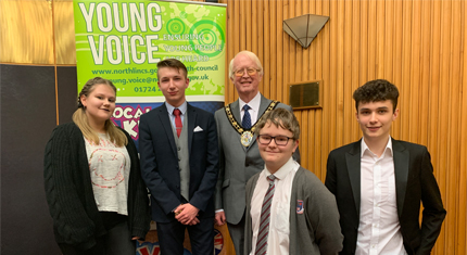 North Lincolnshire's young people head to the polls