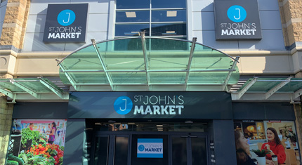 Traders are gearing up for opening of St John's Market