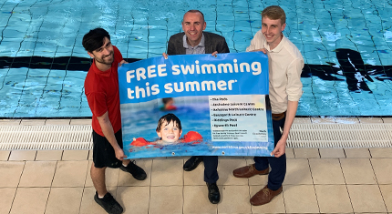 Kids swim free this summer in North Lincolnshire