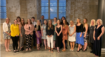 Local newly qualified teachers celebrated