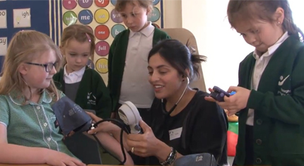 New initiative helps primary school children explore their futures