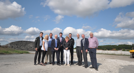 Ward members, the leader of the council and the local MP meet with the Environment Agency in South Ferriby