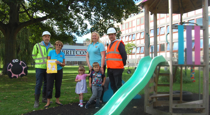 Britcon prove to be good neighbours to nursery in University building project