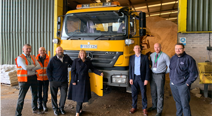 Gritters at the ready for council's winter service
