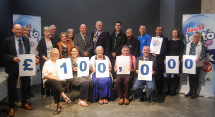 £100,000 raised for good causes through Lincs Lotto