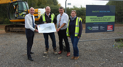 Work starts on speculative business units on North Lincolnshire industrial estate