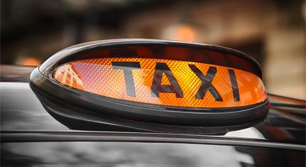 Taxi Lamp