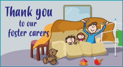 Thank you to our foster carers