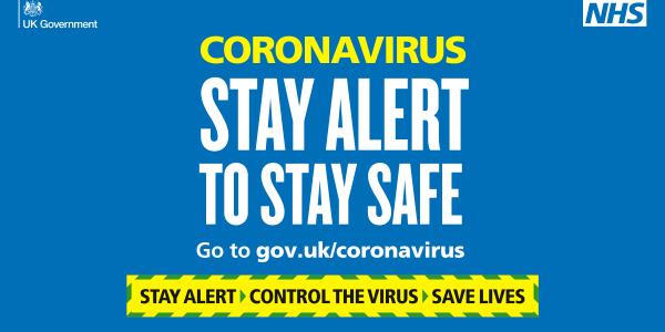 PHE Coronavirus graphic
