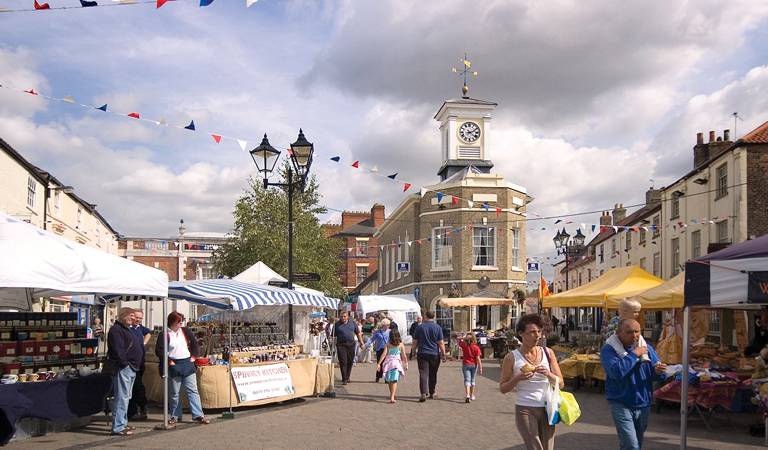 Brigg Farmers' Market set to welcome back customers this weekend