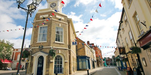 Photograph of Brigg Market Place