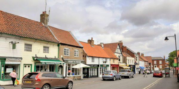 Photograph of businesses on King Street, Barton-Upon-Humber
