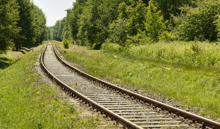 Rural railway line