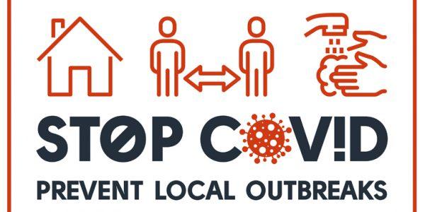 Stop Covid graphic