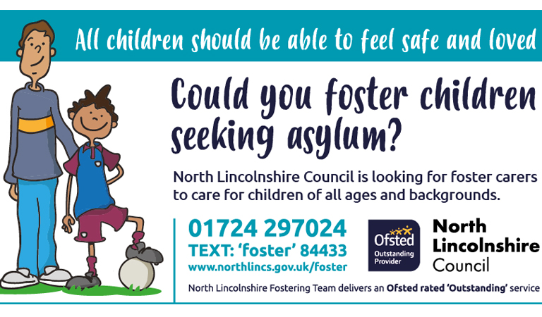 All children deserve to feel loved and safe – foster a child