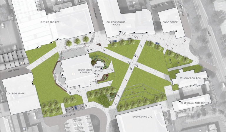 Church Square to be transformed in to urban park