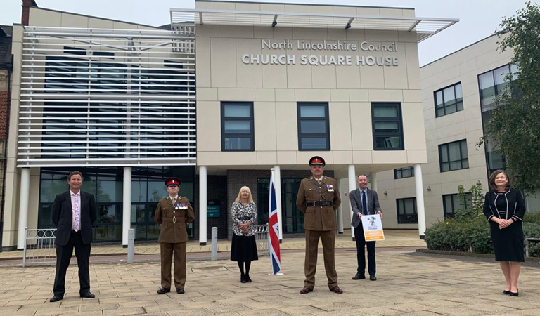 Council receives Gold standard for its support for Britain's Armed Forces