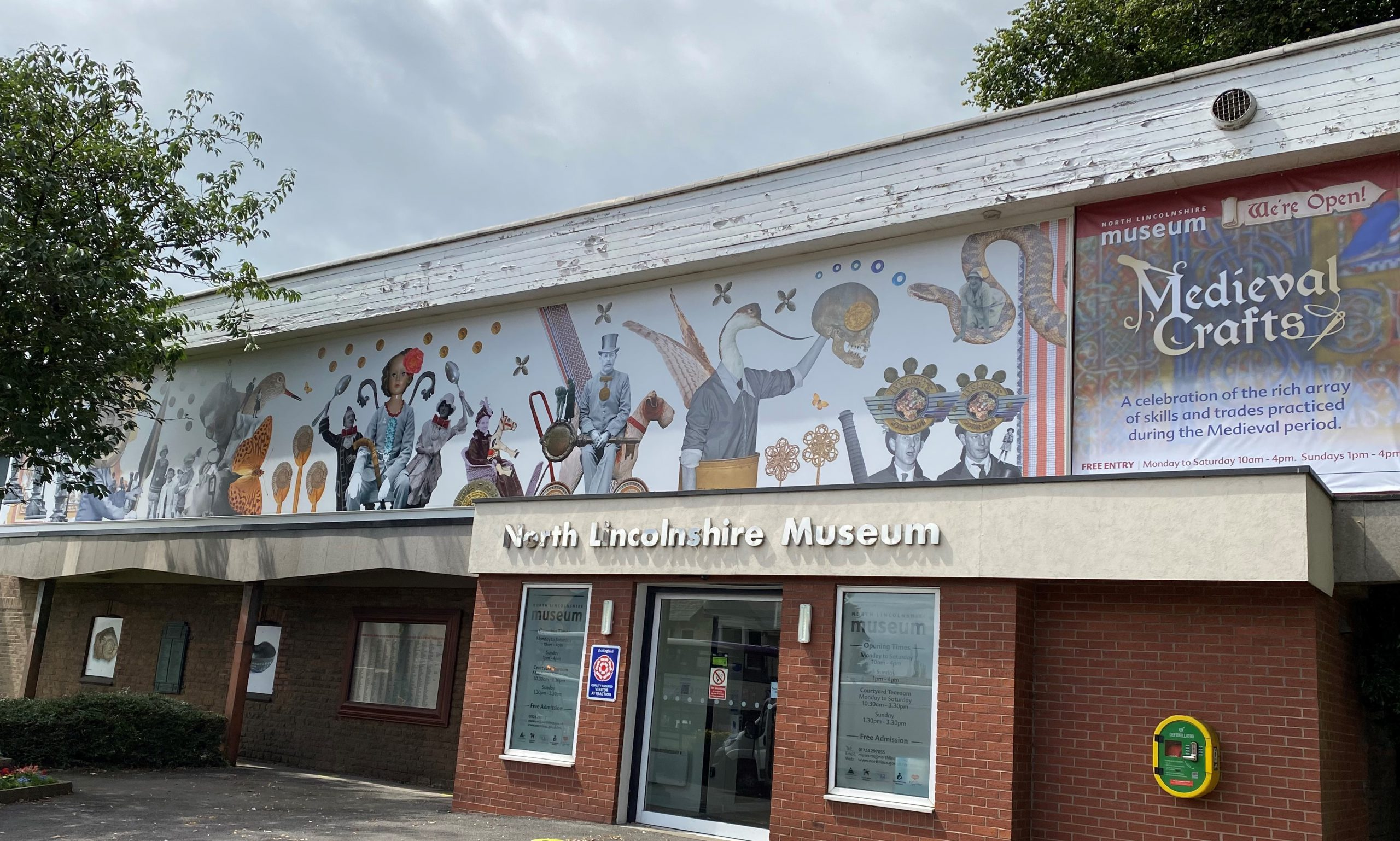 Stunning new graphic for North Lincolnshire Museum