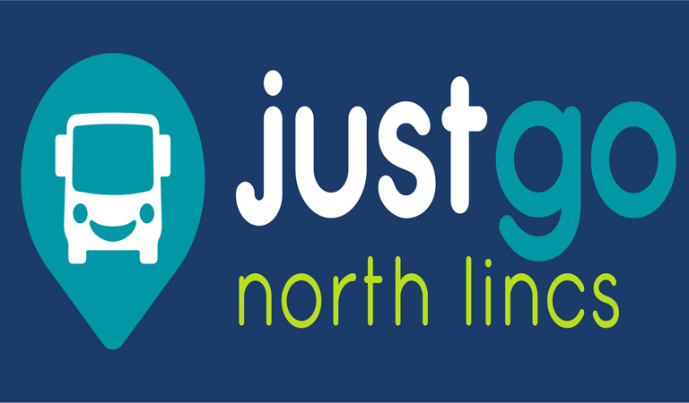 JustGo North Lincs branding