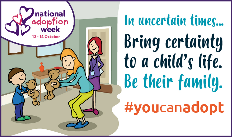 You can adopt and change a child's life this autumn