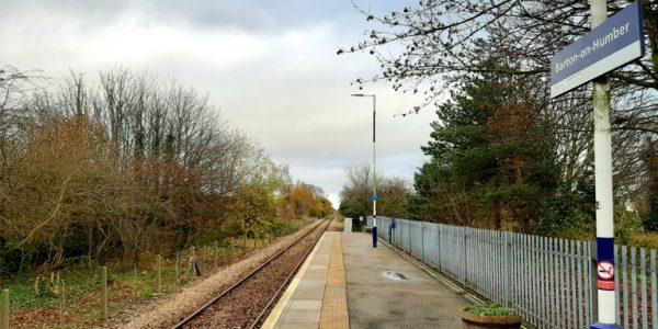 Photograph of Barton-on-Humber railway station