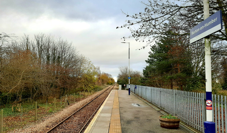 Photograph of Barton-on-Humber railway station