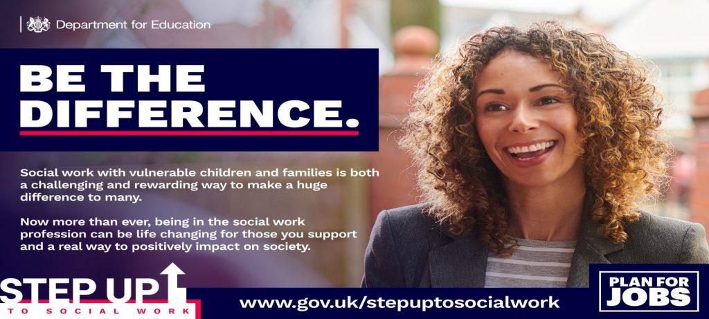 Social worker advert
