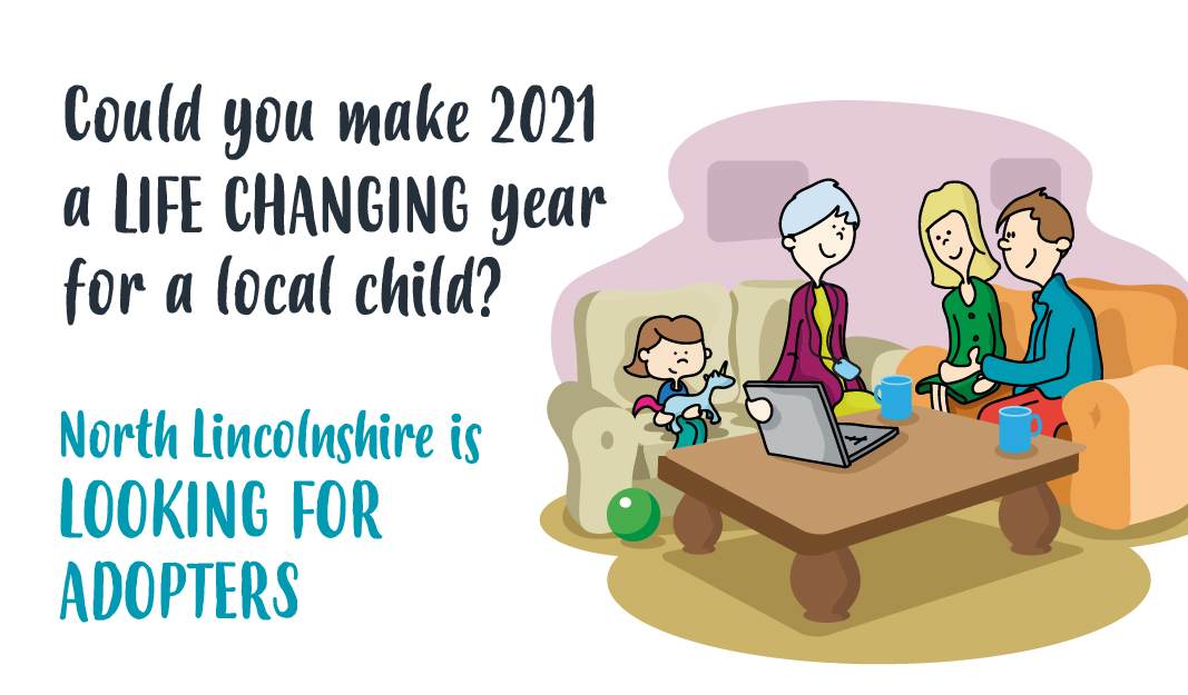 Adopt and make 2021 a life changing year for a local child