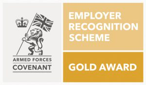 Armed Forces Gold Award