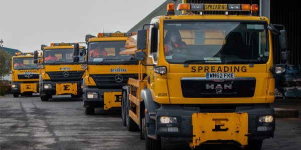 Photograph of North Lincolnshire Council gritters