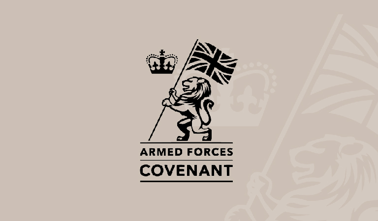 Here for our Armed Forces community