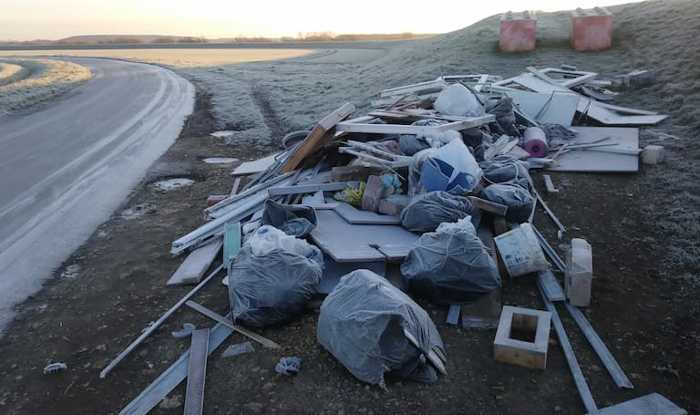 Fines warning in clampdown on fly-tippers