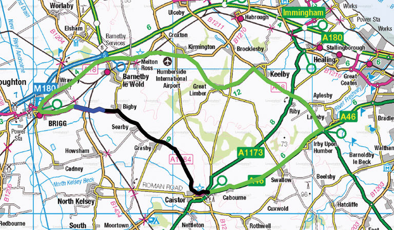 Government backed improvements to A1084 between Brigg and Caistor get underway