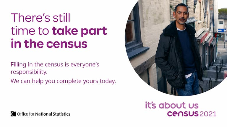 There is still time to complete the census