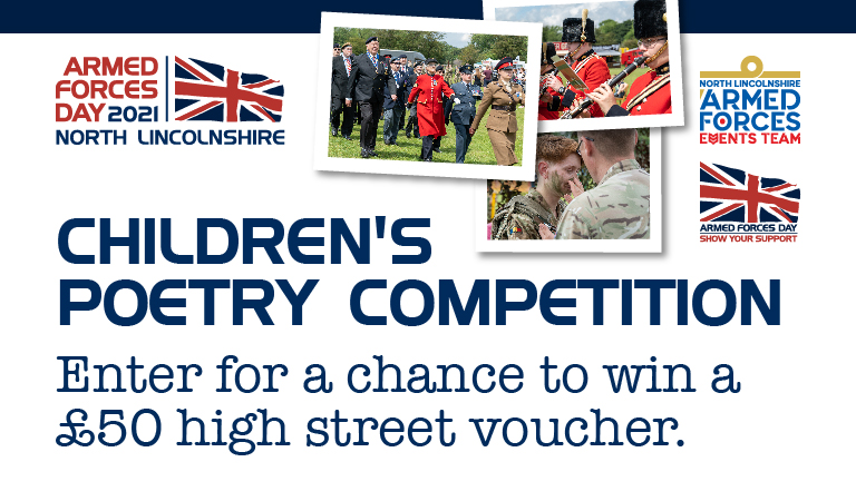 Pen a poem for your chance to win a fantastic prize this Armed Forces Day