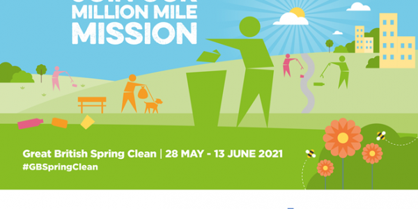 Logo advertising the Great British Spring Clean