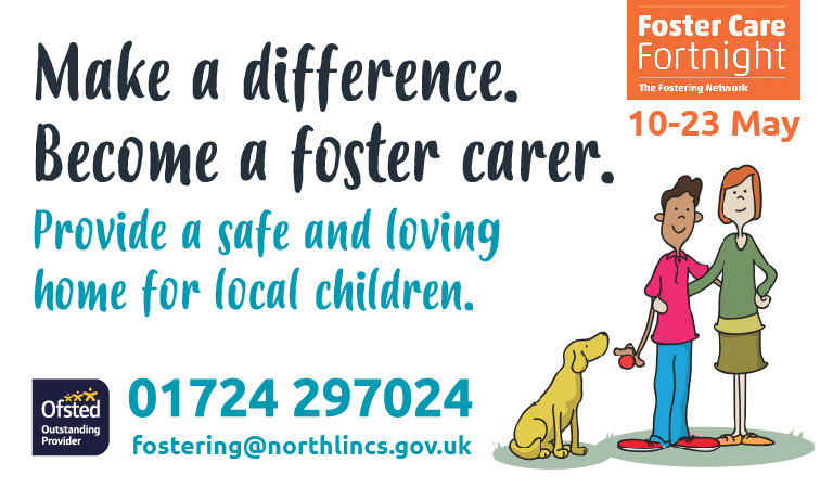 Foster carers needed to provide safe and loving homes in North Lincolnshire