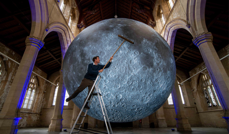 Book your tickets to The Museum of the Moon today