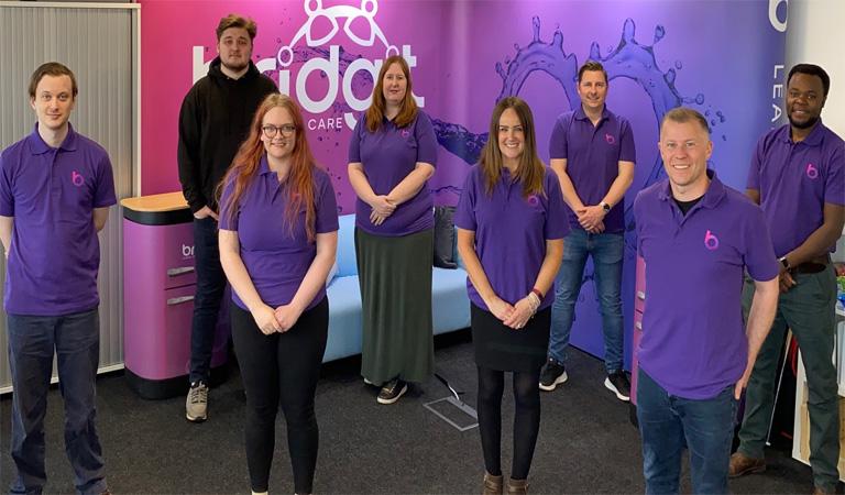 Photograph of the Bridgit Care Team