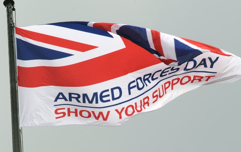Remembering those who served on Armed Forces Day