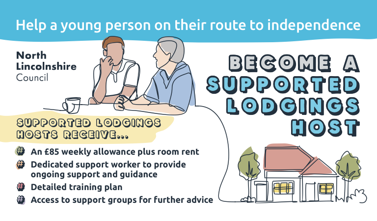 Become a Supported Lodgings host and help a young person move confidently into independent living