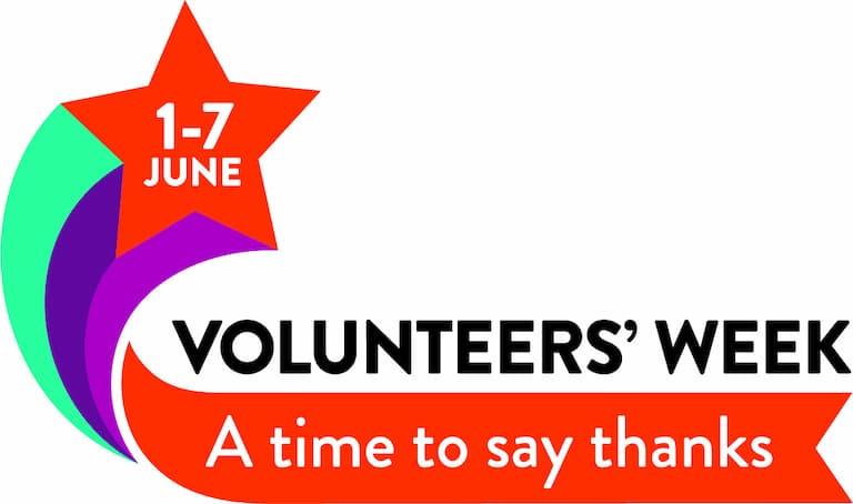 Graphic advertising Volunteers' Week, 1-7 June 2021
