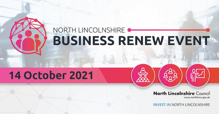 Graphic advertising North Lincolnshire Business renew Event
