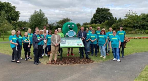 Opening of new Samaritans garden in Kingsway Gardens