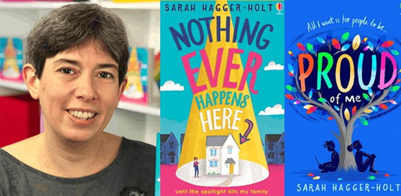 Meet the inspirational LGBTQ+ author Sarah Hagger-Holt