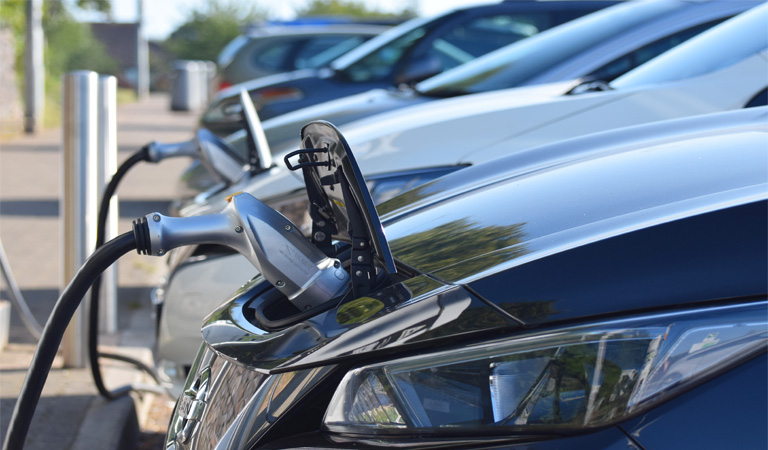 Government cash investment in new electric vehicle charging points to power the council's green revolution